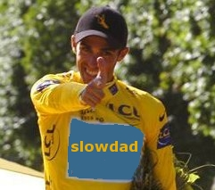 Fingerbang Alberto Contador